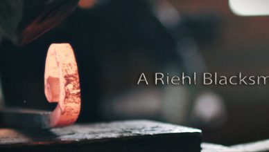 a riehl blacksmith poster image
