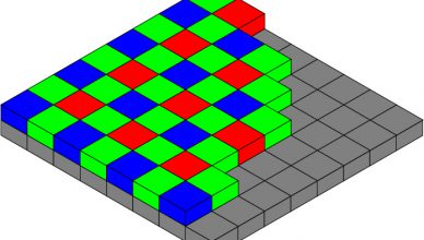 debayer pattern illustration
