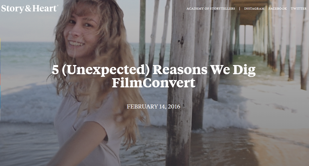 5 Reasons to use FilmConvert - LUTs